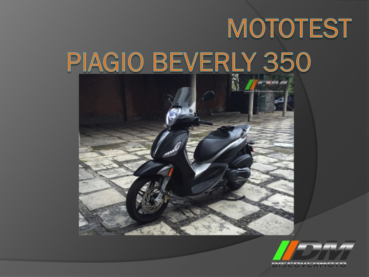 Piagio Beverly 350 Sport Touring